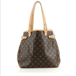 Authentic Louis Vuitton Batignolles Vertical Bag
